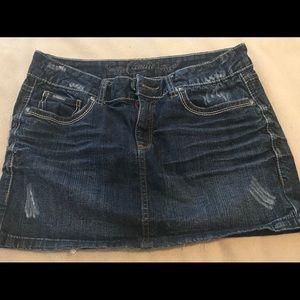 Jean Skirt Size 7